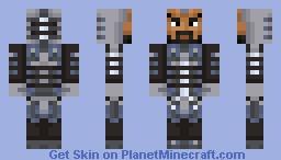 Lego Skin Pack: Cyborg Minecraft Skin