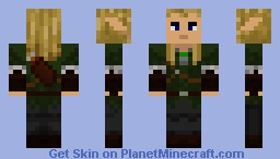 Legolas (Lord of the Rings) Minecraft Skin