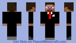 Well dressed Steve Minecraft Skin