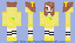 Lemon Drop Dreams Minecraft Skin
