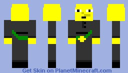 Lemongrab Minecraft Skin