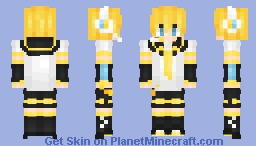 Len Kagamine Minecraft Skin