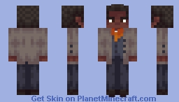 Lenny Summers - Red Dead Redemption 2 Minecraft Skin