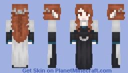 Vampire babe Minecraft Skin