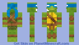 TMNT - Leonardo | 2003 | 1.8+ Minecraft Skin