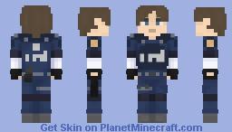 Resident Evil 2 (2019) - Leon Scott Kennedy (Alternative Skin) Minecraft Skin