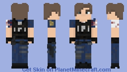 Leon S. Kennedy [RE2 Remake] Minecraft Skin