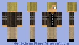 Leon S Kennedy (Resident Evil 6) Minecraft Skin