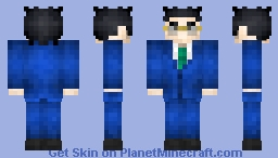 Leorio from Hunter x Hunter Minecraft Skin