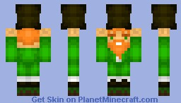 Leprechaun -With Pot Of Gold- Minecraft Skin