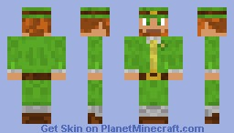Leprechaun skin (For xax160) Minecraft Skin