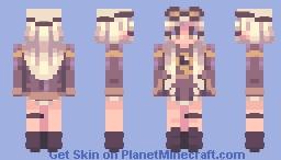 Pilot Girl // Лётчица Minecraft Skin