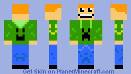 Minecraft Happy Skin