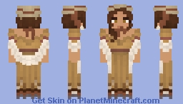[LOTC] Sunkissed Maiden Minecraft Skin