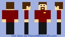 Lewis (Screw The Nether Parody) Minecraft Skin