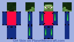 combine Minecraft Skin