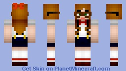 [Reshaded&Revamped] Cutie Librarian Girl Minecraft Skin