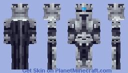 The Lich King Minecraft Skin