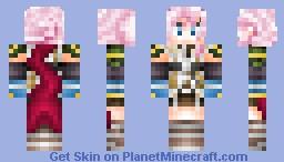 Lightning (Claire Farron) from Final Fantasy XIII Minecraft Skin