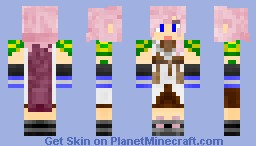 Lightning (Final Fantasy) Minecraft Skin