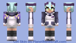 Lilith | Monster Musume | Alts in desc. Minecraft Skin
