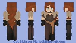 {𝖓𝖊𝖕𝖊𝖓𝖙𝖍𝖎𝖆𝖑} WW Viking Lady? -Do 𝐍𝐎𝐓 use without Permission- Minecraft Skin