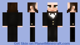 Abraham Lincoln Minecraft Skin