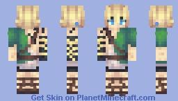 Link-Breath of the Wild Sequel Minecraft Skin