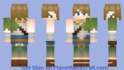 Link from LOZ: Twilight Princess Minecraft Skin