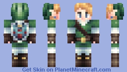 Link 1.8 (Shading updated!) Minecraft Skin