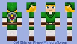 Zelda's Link Minecraft Skin