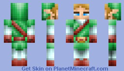 link (ocarina of time) Minecraft Skin