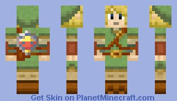 Link The Hero Of Time Minecraft Skin