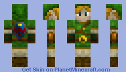 Link ( Legend Of Zelda ) Minecraft Skin