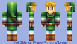 Link - Legend Of Zelda Minecraft Skin