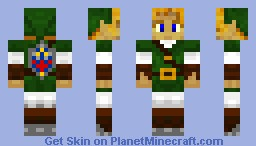 Link Green tunic Minecraft Skin