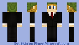 link in a suit Minecraft Skin