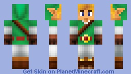 Link [Ocarina Of Time] Minecraft Skin