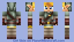 Link [Twilight Princess] Minecraft Skin