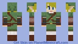 Legend of Zelda Link Minecraft Skin