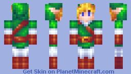 Link - Zelda Minecraft