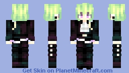 lio fotia // PROMARE Minecraft Skin