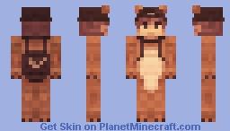 Lion boy with cap Minecraft Skin