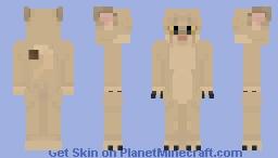 Lioness Minecraft Skin