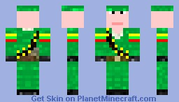 Lithuania soldier Minecraft Skin