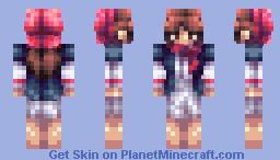 The Little Match Girl - Fairytale CE Minecraft Skin