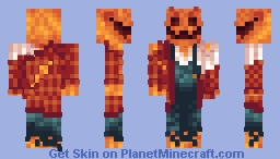 Living Scarecrow/Pumpkin Man Minecraft Skin