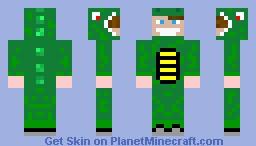 Lizardsuit Guy Minecraft Skin