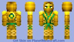 Lloyd Golden Ninja Minecraft Skin