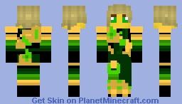 Lloyd (Legacy Armour Robes Gold) Minecraft Skin